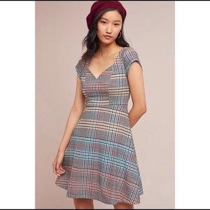 Moulinette Soeurs Anthropologie Finely Plaid Dress